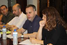 Antonio Lucio y Elena Álvarez (Gobierno de Cantabria)