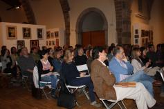 asistentes al seminario informativo del urogallo cantábrico en Potes