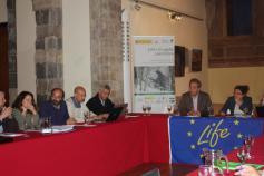 Reunión del comité científico de LIFE+ Urogallo cantábrico en Potes (Cantabria)