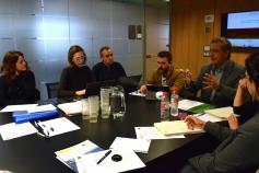 Reunión del Comité de Gestión del LIFE+ Urogallo cantábrico en la sede de la Fundación Biodiversidad