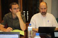 Daniel Pinto e Ignacio Molina (Junta de Castilla y León)