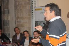 Presentación de José Reque, de la Universidad de Valladolid, sobre gestión de hábitat