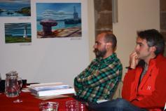 Representantes de SEO/Birdlife en la delegación de Cantabria