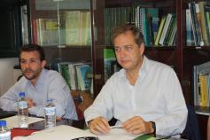 Víctor Gutiérrez e Ignacio Torres (Fundación Biodiversidad)