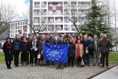 Participantes en la reunión del comité científico del LIFE+ Urogallo cantábrico celebrada en León