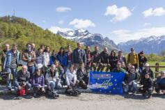 Medios de comunicación y socios del proyecto visitan las acciones del LIFE+Urogallo cantábrico en Picos de Europa