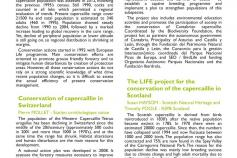 El LIFE+ Urogallo cantábrico participa en el European meeting for forest que se celebra del 24 al 27 de septiembre en los Vosgos, Francia