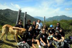 Voluntarios del LIFE+ Urogallo cantábrico @Javier Purroy - SEO/BirdLife