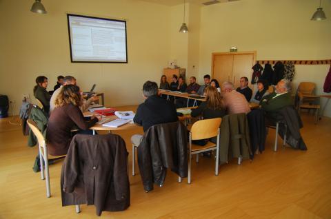 Se reúnen los equipos del LIFE+ Tétras Vosges y del LIFE+ Urogallo cantábrico