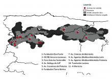 Actuaciones de custodia del territorio para la conservación del urogallo cantábrico