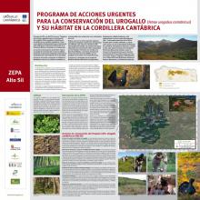 Panel informativo de la ZEPA Alto Sil